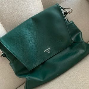Matt and Nat Forest Green Minka Hobo Bag